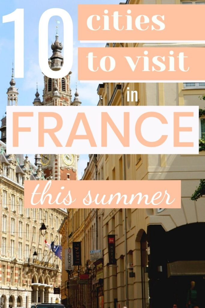 French top cities for summer