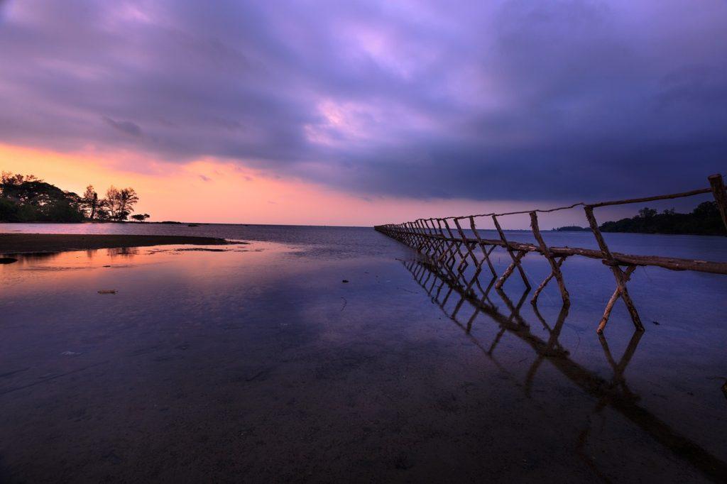 Phu Quoc at sunset, Vietnam