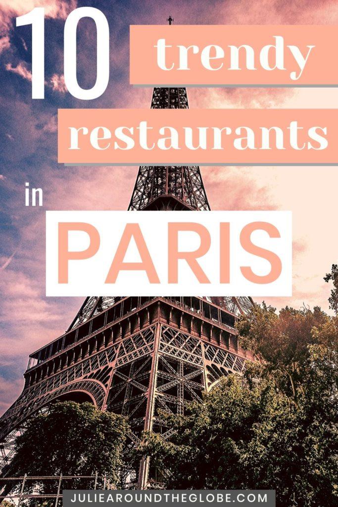 Trendiest restaurant in Paris