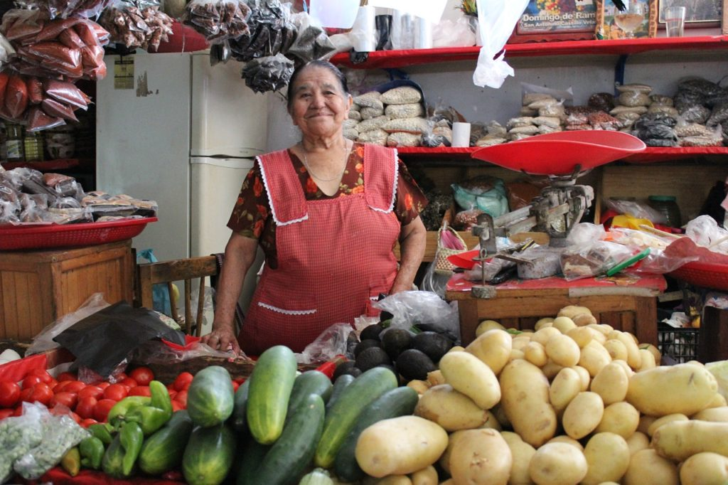 Woman, Market in Mexico