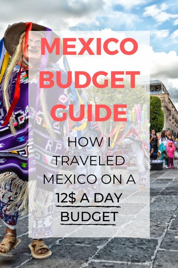 mexico budget guide