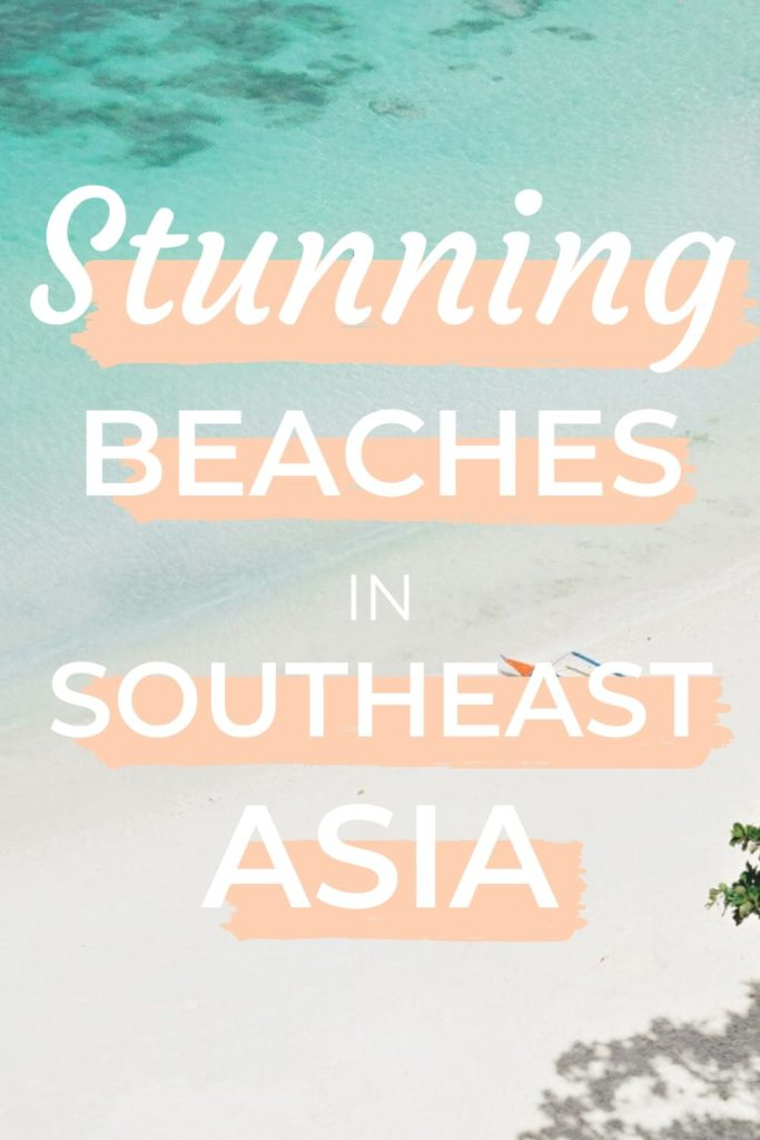 Beaches in Southeast Asia