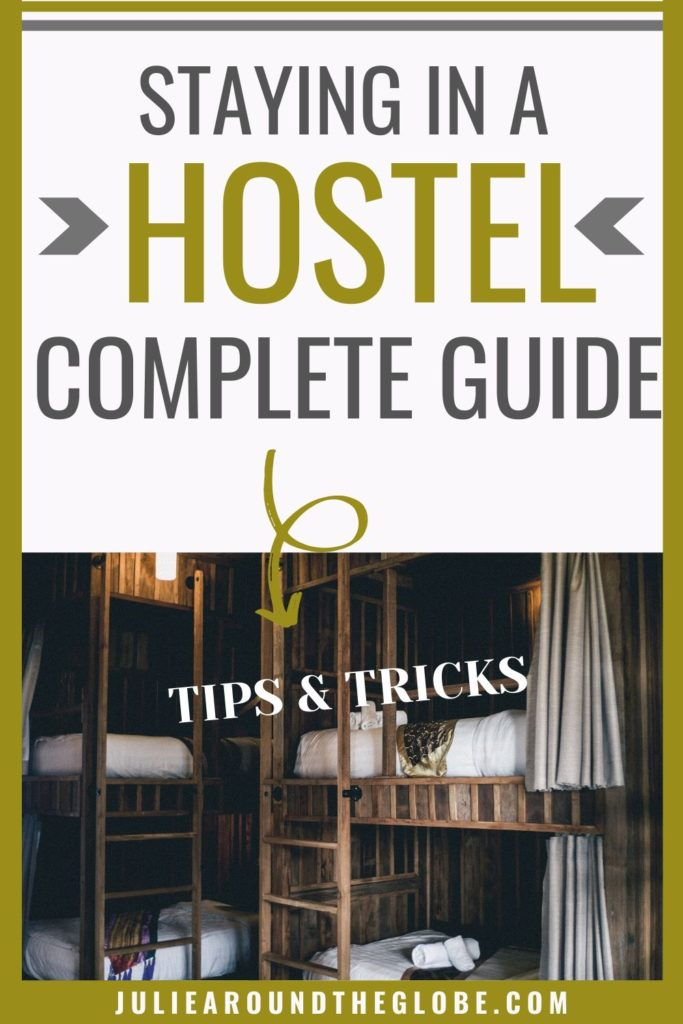First-timers guide to staying in a hostel