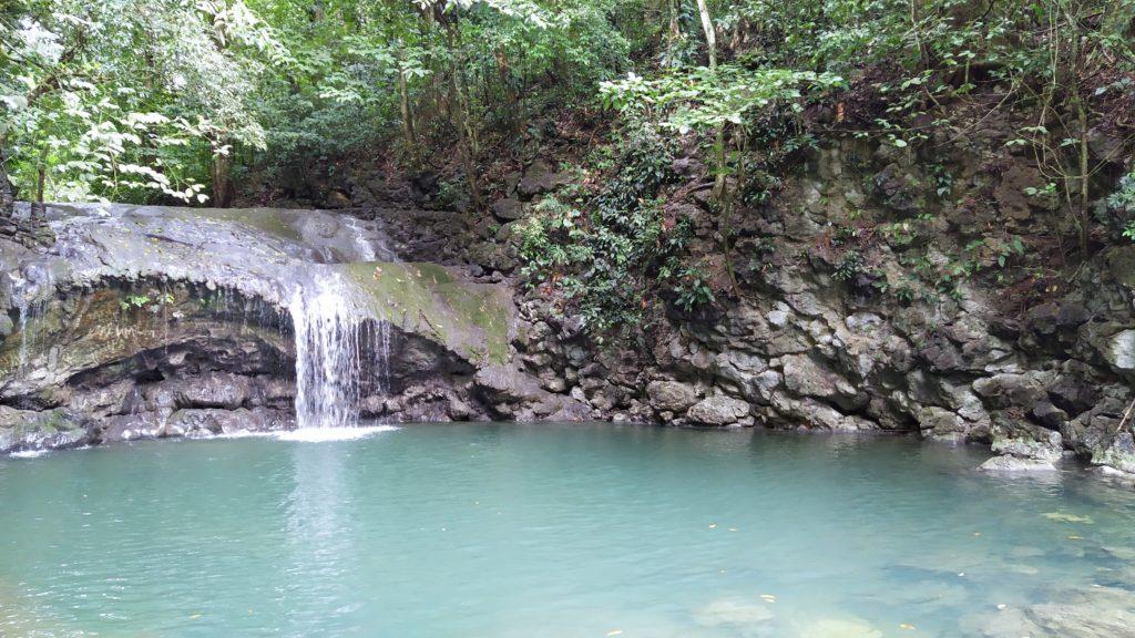 Siete Altares Waterfall, Livingston, Guatemala