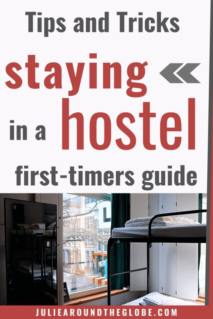 Tips for staying in a hostel