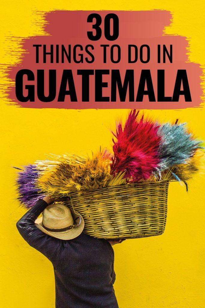 Guatemala itinerary and travel guide