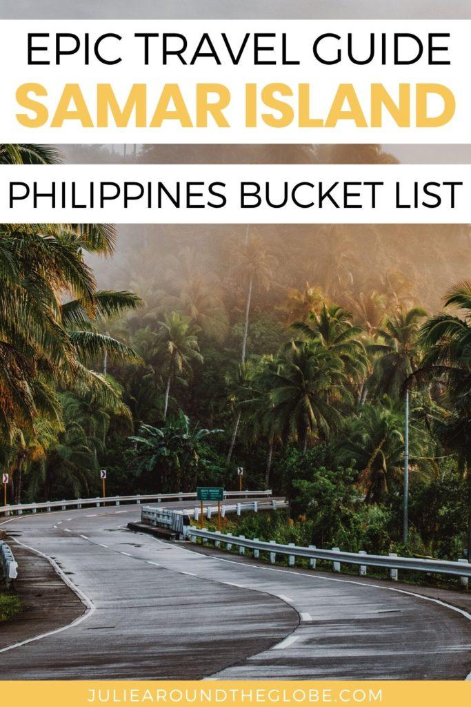 Samar Island Tourist spots - Philippines travel guide