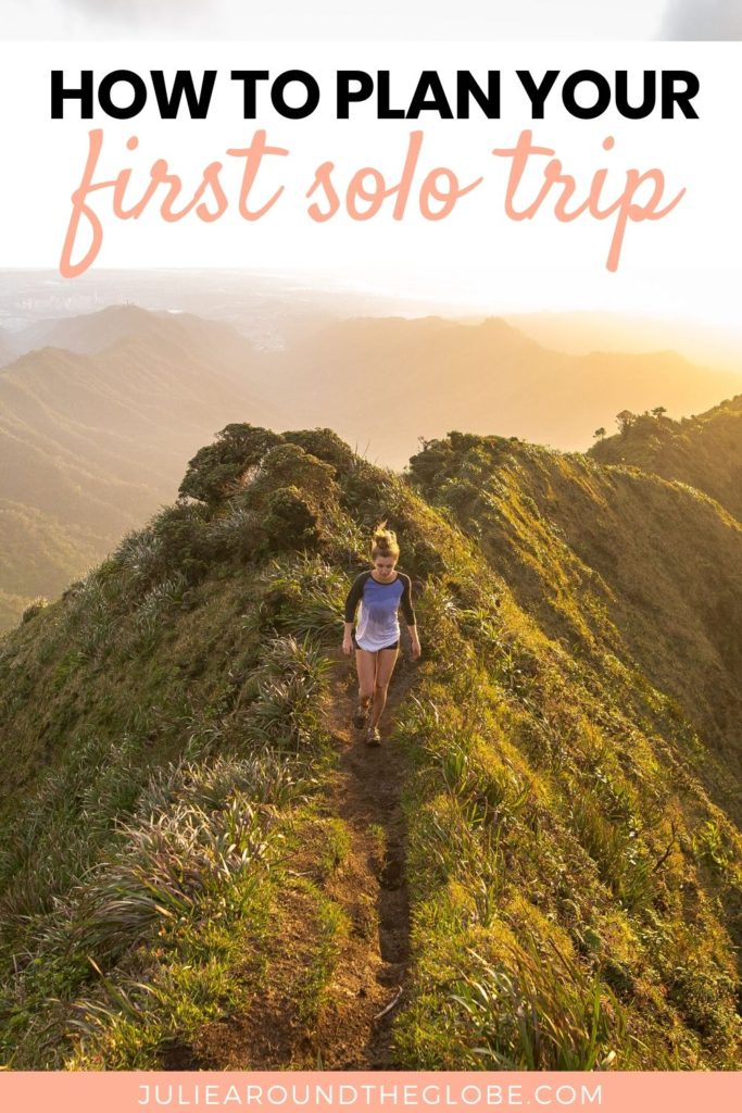 Solo travel tips for first-timers