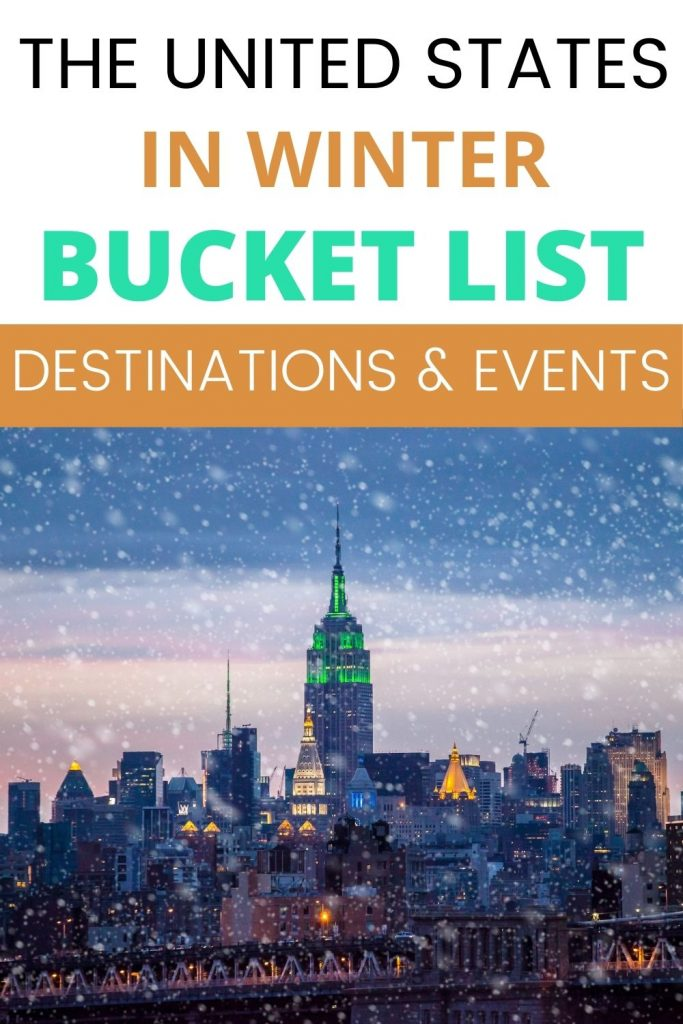 Best winter destinations in the USA