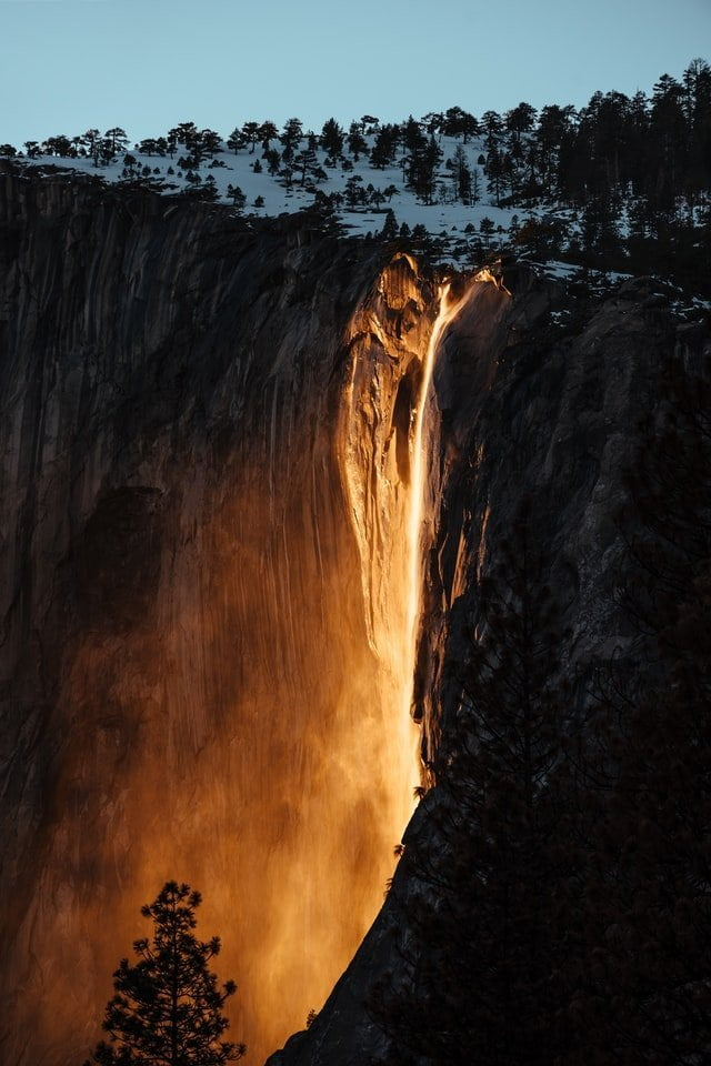 Horsetail Falls, Yosemite