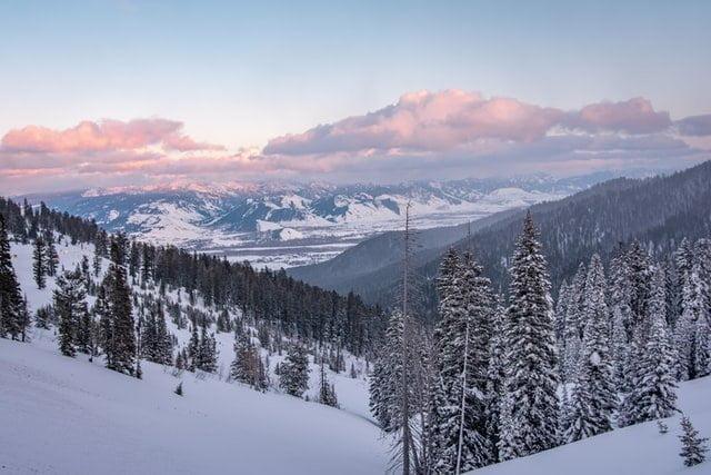 Jackson Hole in winter