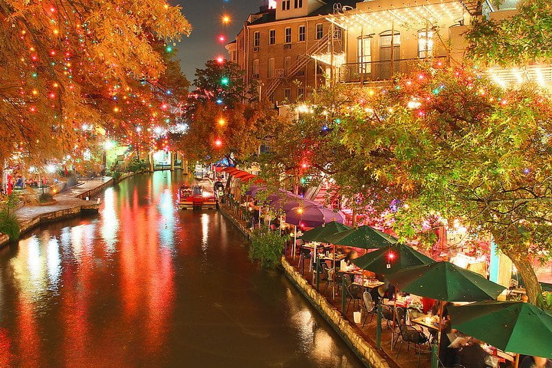 San Antonio Riverwalk, Best things to do in the USA in winter