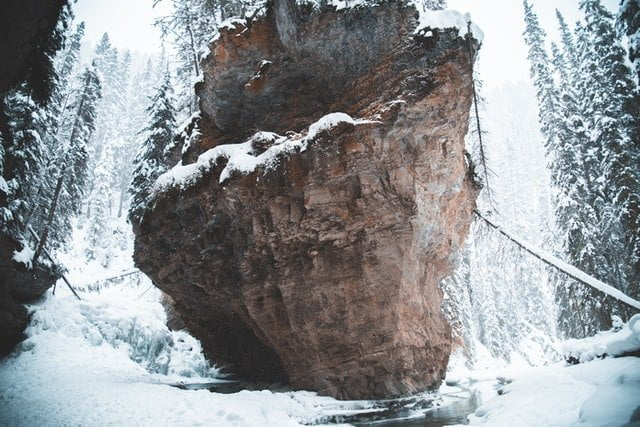 Banff in winter travel guide