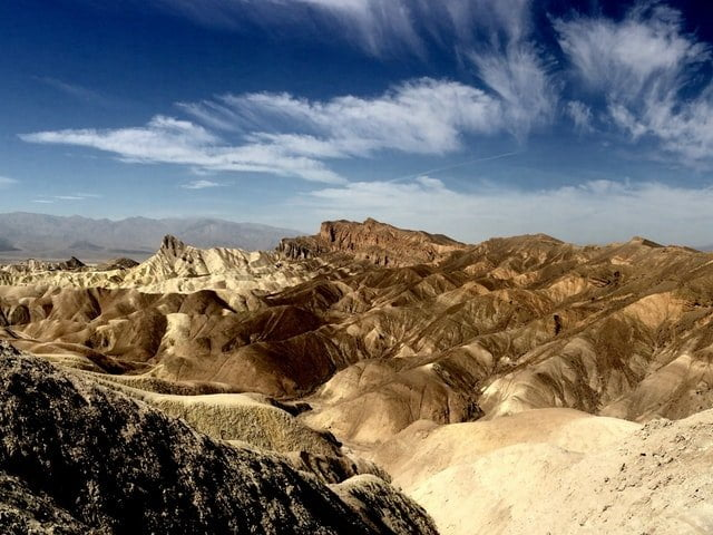 Death Valley, best road trips in the US