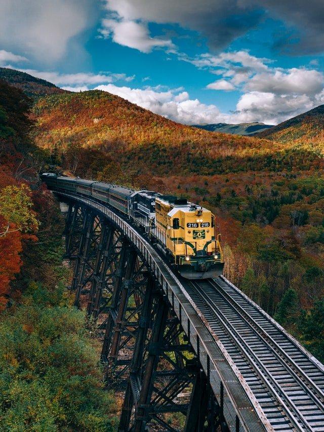 Falll foilage in New Hampshire