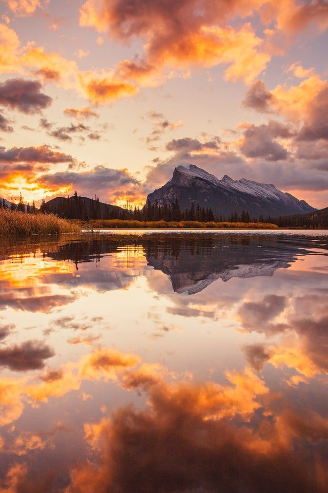 Vermillion Lakes, best things to do in Banff in winter