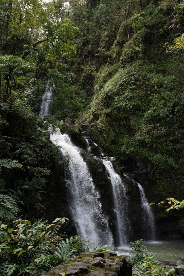 Waterfall, Maui, Hawai