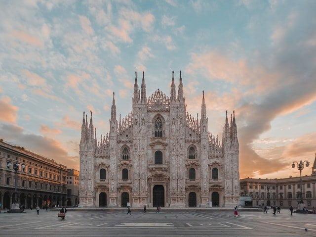 Duomo Cathedral Square, Milan, Italy