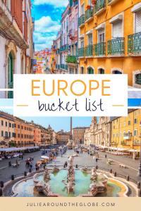 Prettiest cities in Europe