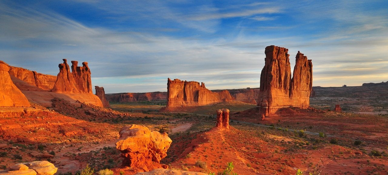 Arches - best national park to visit in Summer