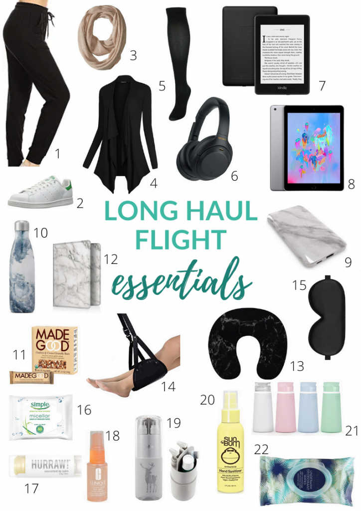 best travel accessories for long flights